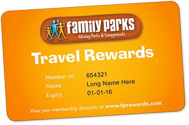Family Parks Travel Rewards Card