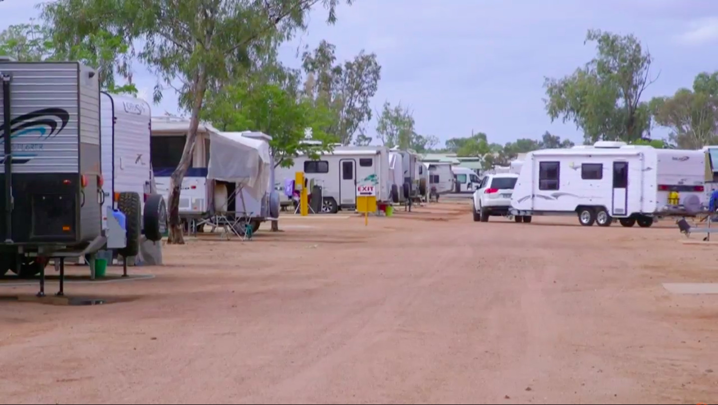 Camping at Longreach Tourist Park