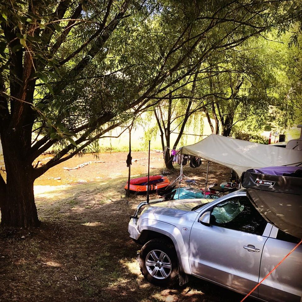 Book early for creek-side campsites at the NRMA Bright Holiday Park