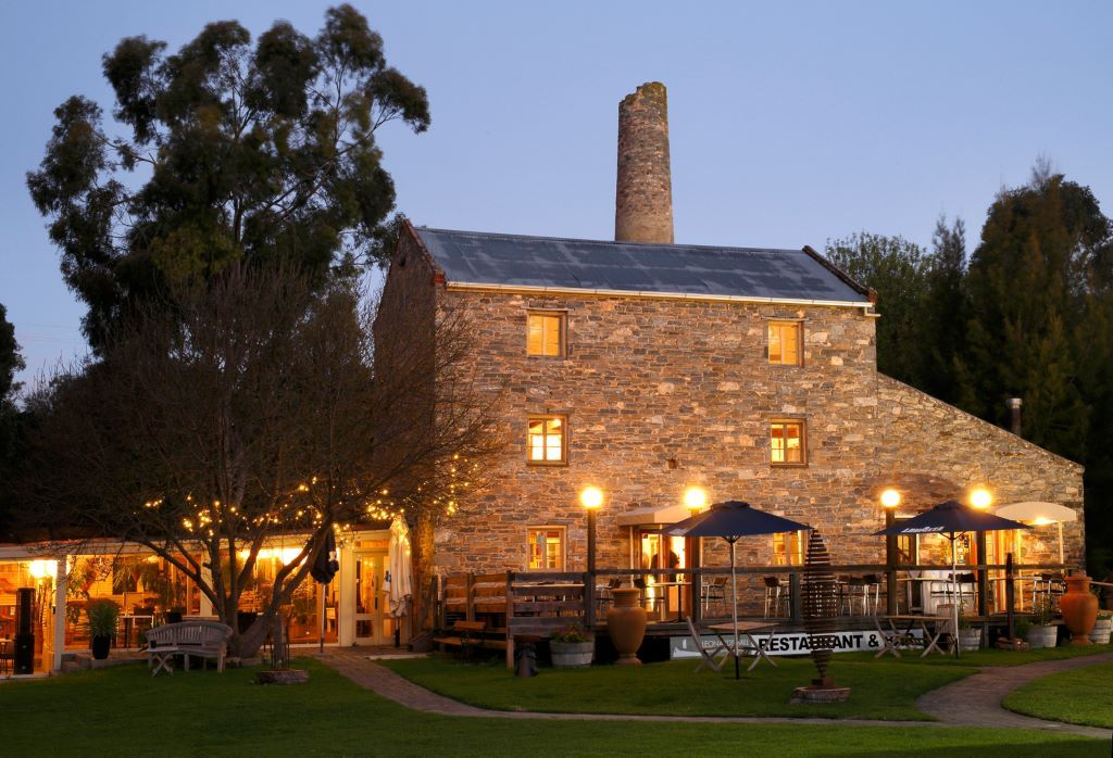 Second Valley Caravan Park is close to the iconic Leonards Mill offering gourmet dining