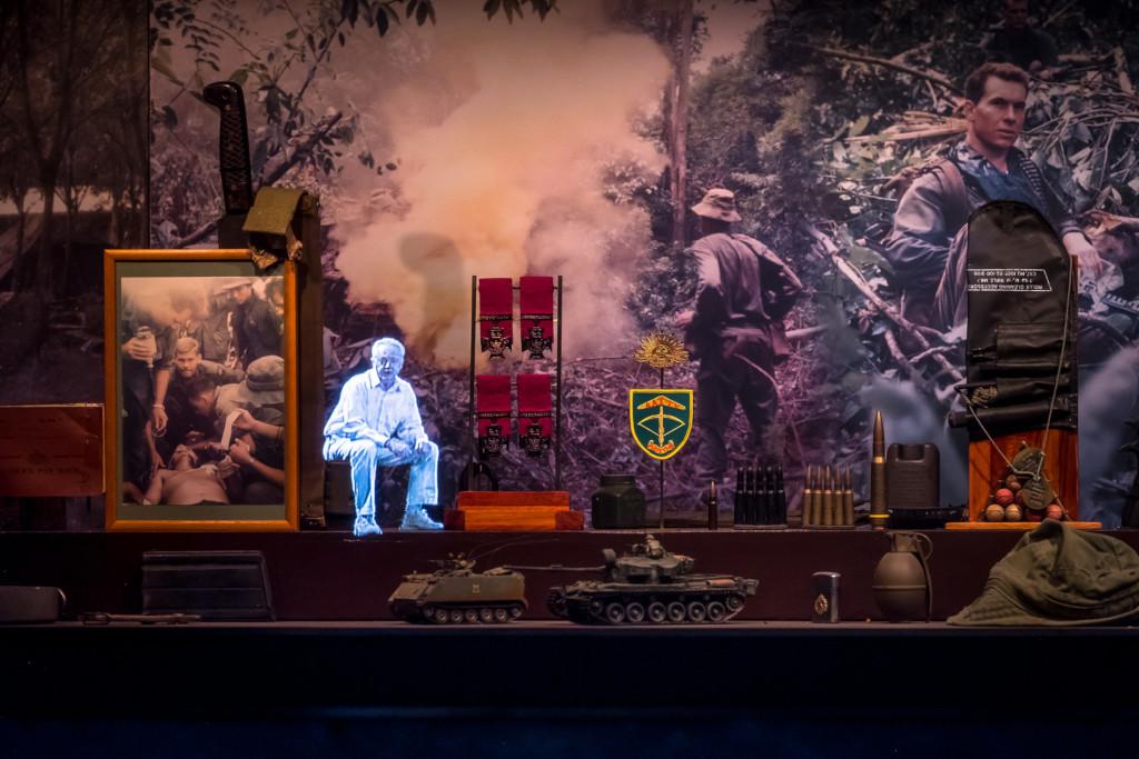 Vietname Veterans Museum interpretive displays