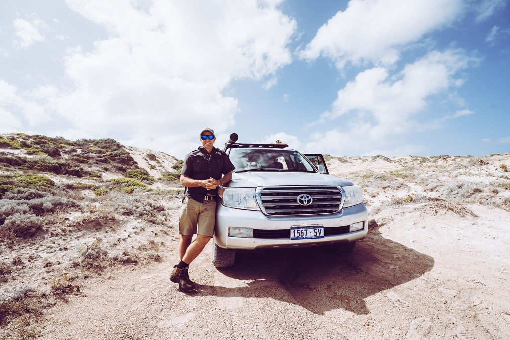 David Doudle learned to 4WD in the Great Australian Bight