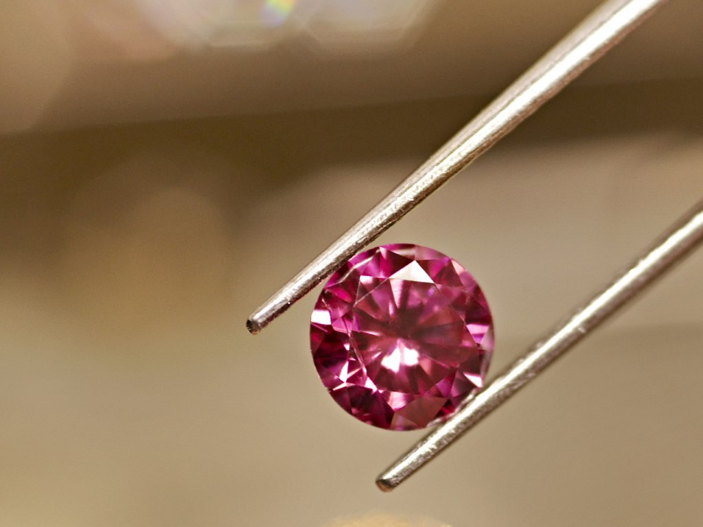 Argyle pink diamonds were first found in 1979 and are available at Kimberley Fine Diamonds