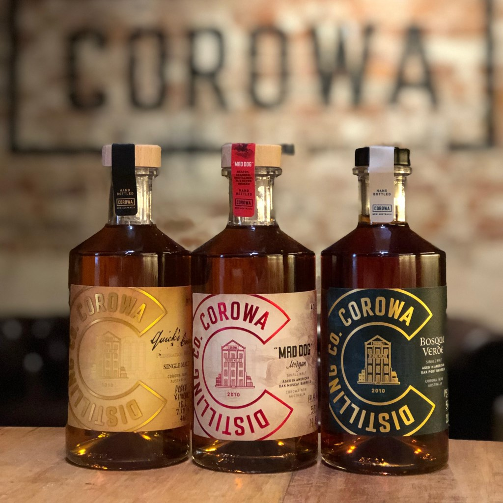 Corowa Whisky and Chocolate's collection is growing