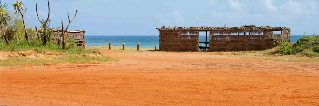 Shelter on Cape Leveque via Fly Broome
