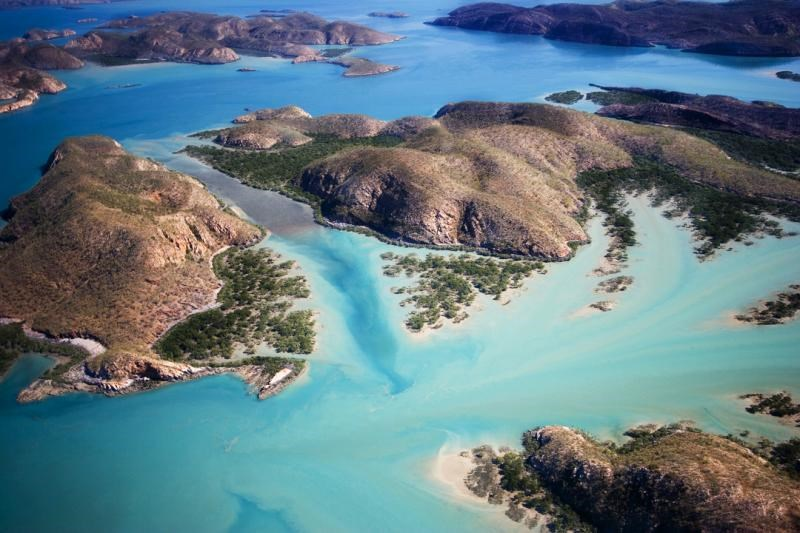Many islands in the Buccaneer Archipelago are unpopulated says Sadie from Fly Broome
