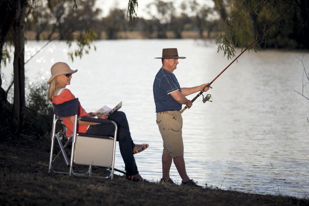 Pack the rods on your Goondiwindi Holiday, with great fishing in the Macintyre River