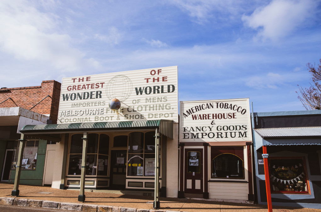 Greatest Wonder of the World. The new permanent home of a State Library NSW exhibition featuring gold rush imagery from the Gulgong Holtermann Collection