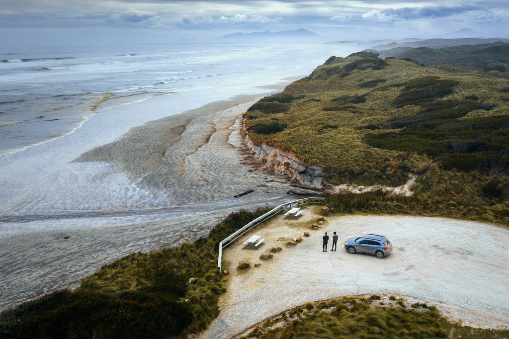 Ocean Beach is a long stretch of beach running north of Macquarie Heads and Hells Gates West Coast of Tasmania.