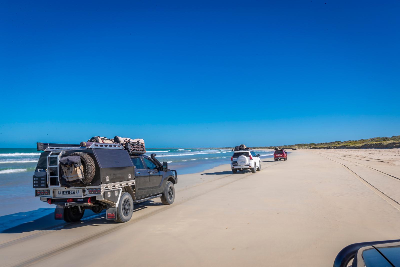 Long Beach, Robe. Beach driving, Tourism SA