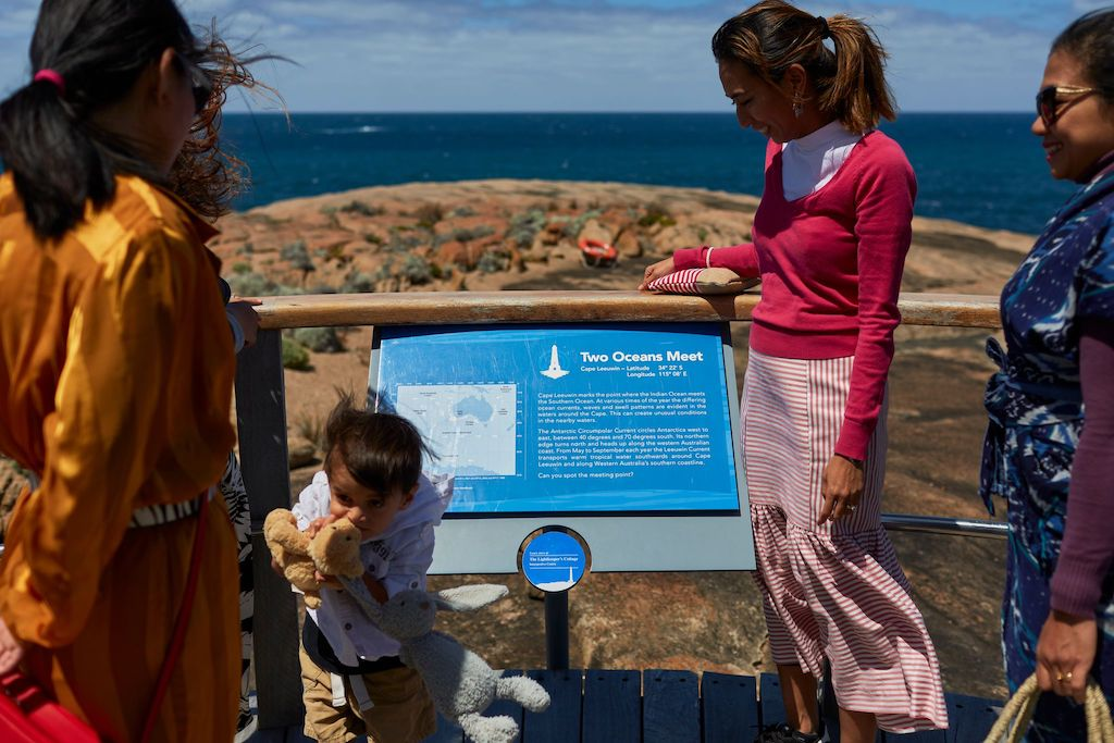 Cape Leeuwin where the Indian and Southern oceans meet
