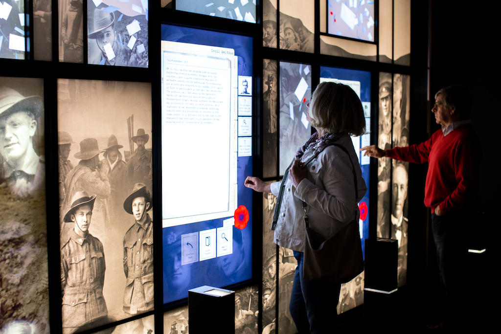Follow the lives of Aussies touched by the ANZAC legacy at the National ANZAC centre in Albany
