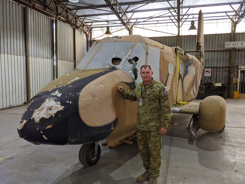 Neil Choyce spearheads Project Nomad restoration at the Australian Army Flying Museum