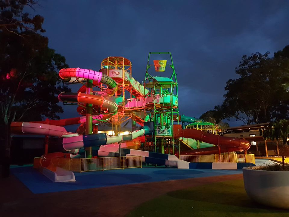 BIG4-gold-coast-holiday-park-water-park-sundown