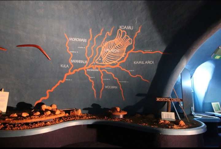 eight nations connected to the Brewarrina meeting place