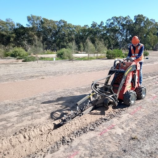 Coates Hire Nurooipta supported the Barossa Bushgardens with digger hire