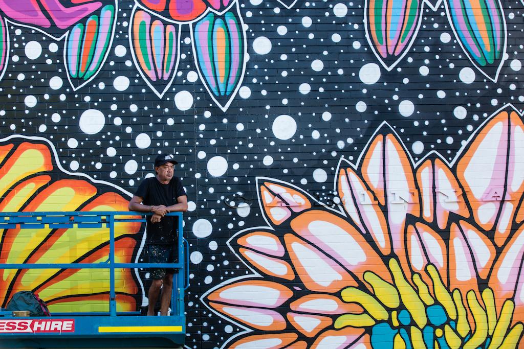 Darwin Street Art Festival Jason Lee