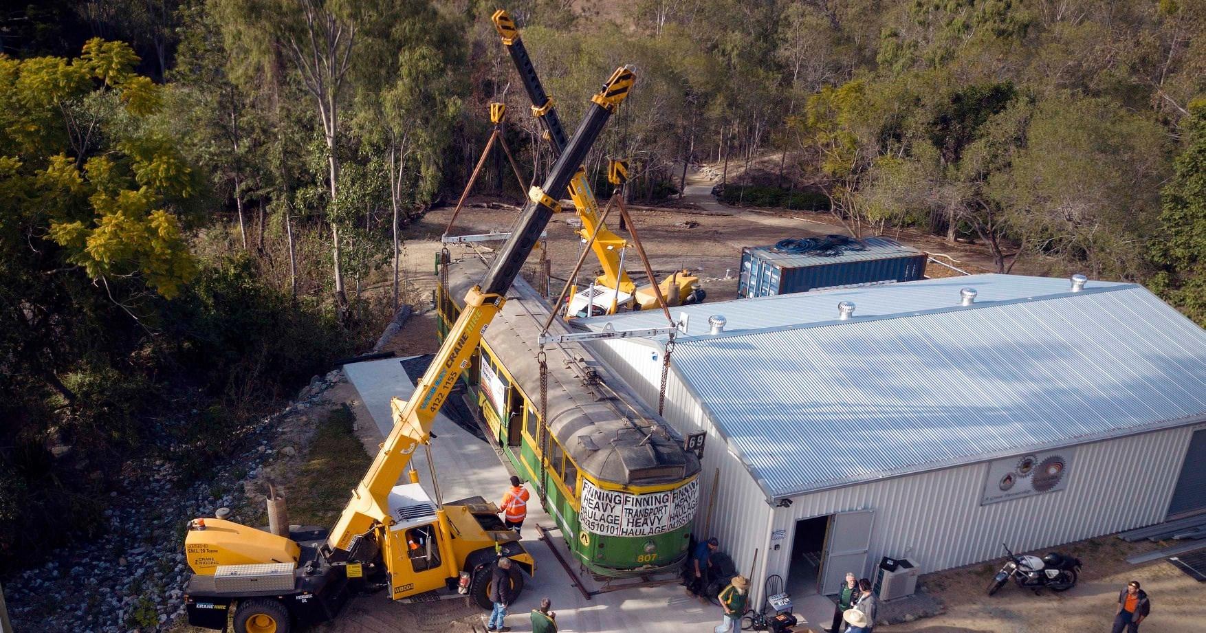 Ergon Energy financed the Mount Perry 807 tram renovation