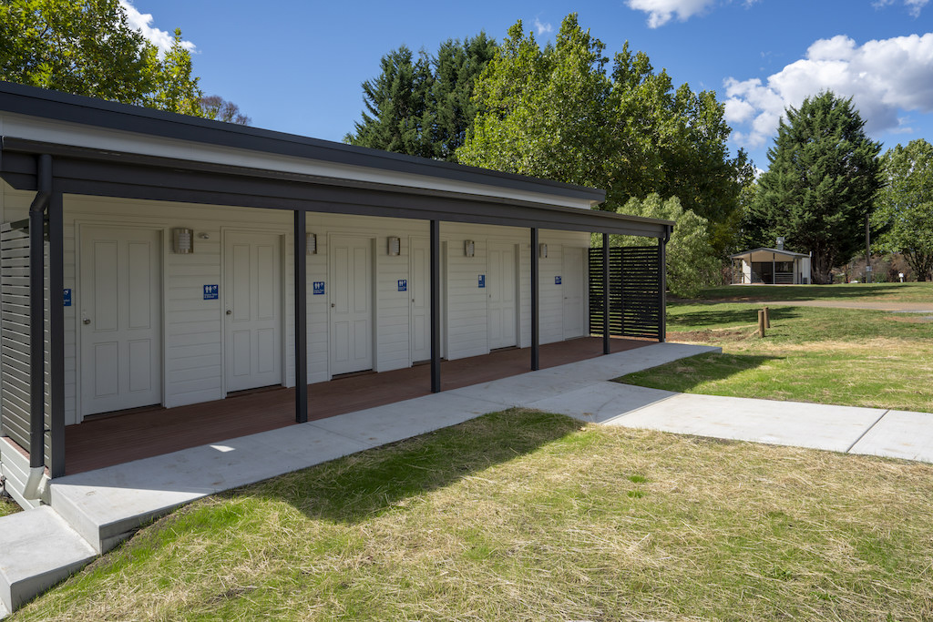 All buildings within Batlow Caravan Park are brand new