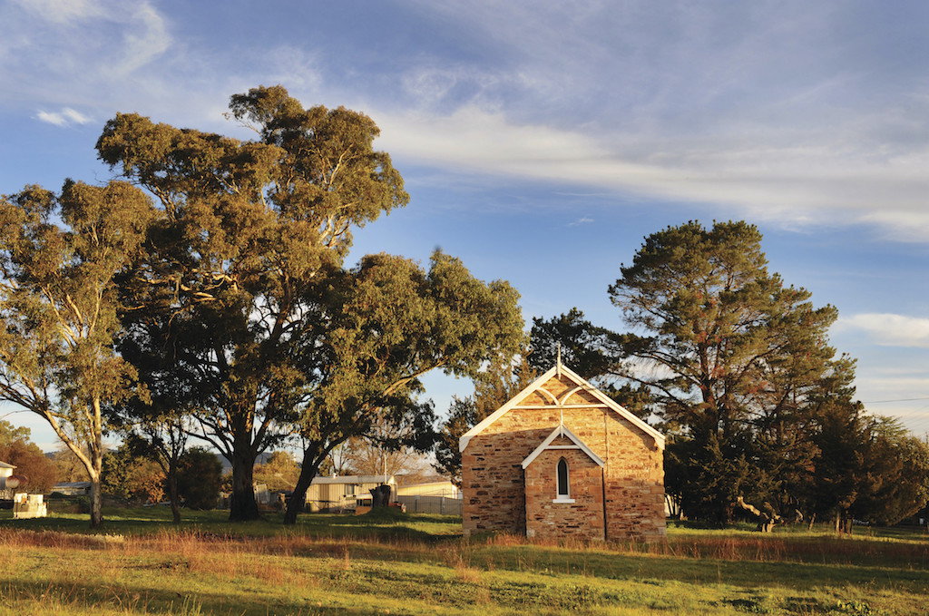 Amber Hooper credit. Country chapel in Rylstone