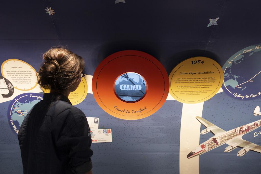 Super Constellation refurbishment at the Qantas Founders Museum in Longreach