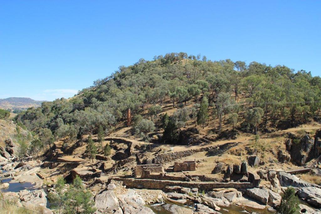 Adelong Falls Gold Mill Ruins