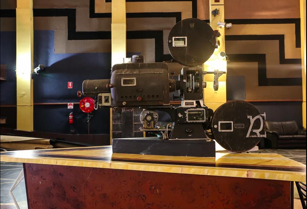 Paragon Theatre projector