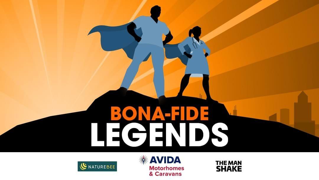 Avida RV motorhome hire major prize in the Bonafide legends promotion