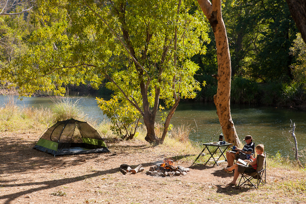 Private camping at El Questro, now part of the G'day Group