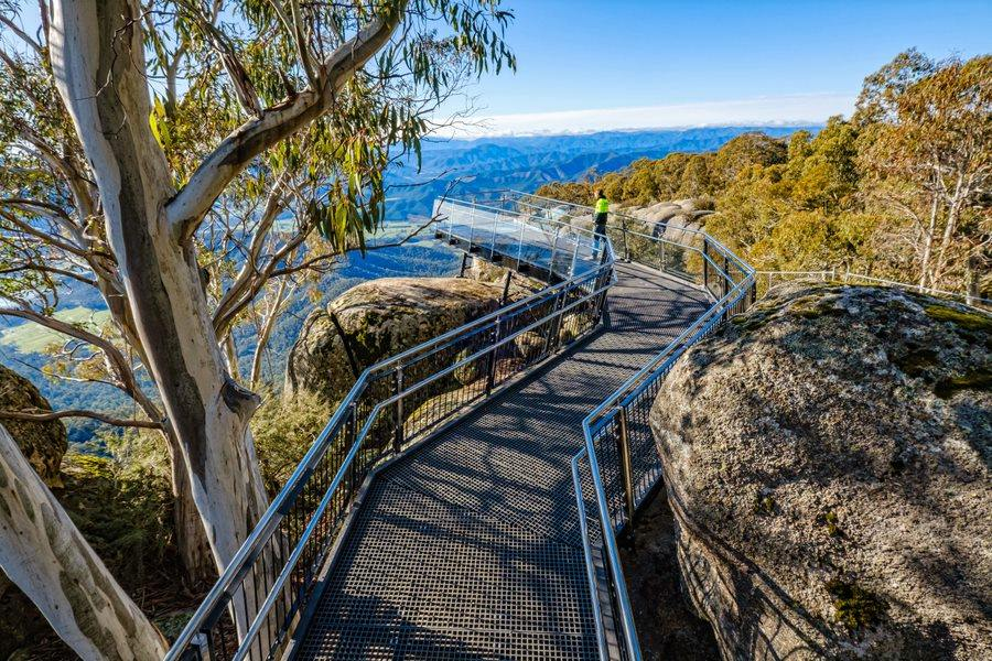 The Gorge Lookout at Mount Buffalo National Park