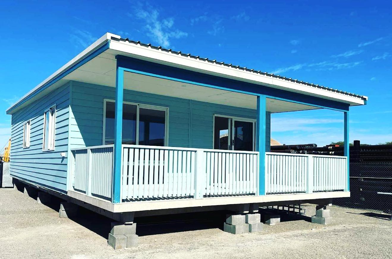 Holtro Group built the cabins for the Experience Lancelin Holiday Park
