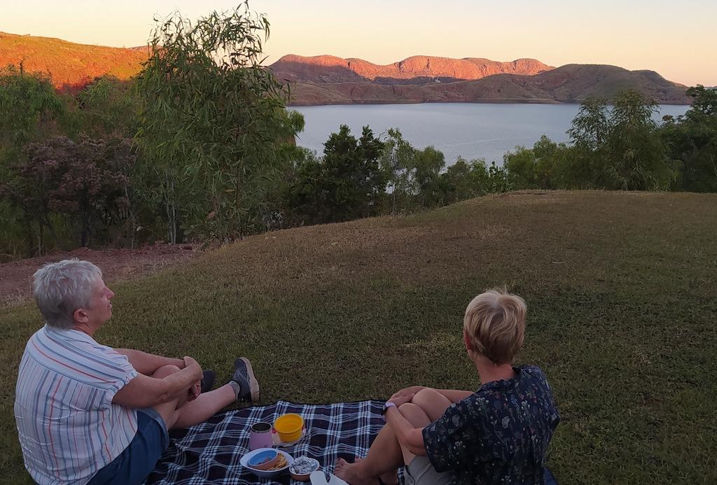 Happy Hour at Lake Argyle Tourist Park
