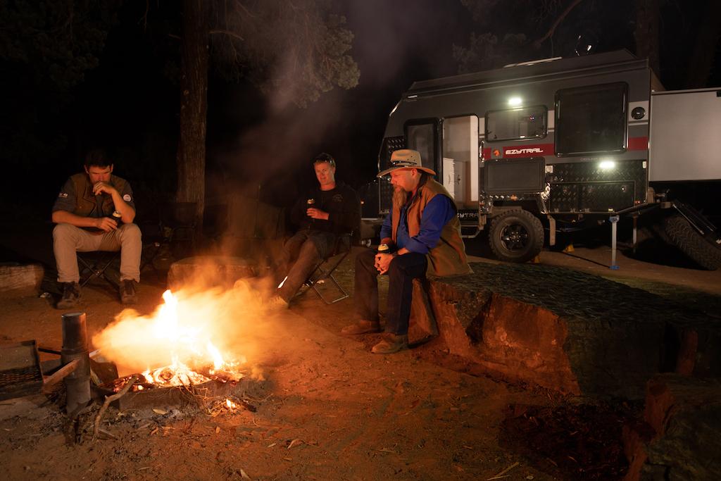 Ezytrail campfire coals