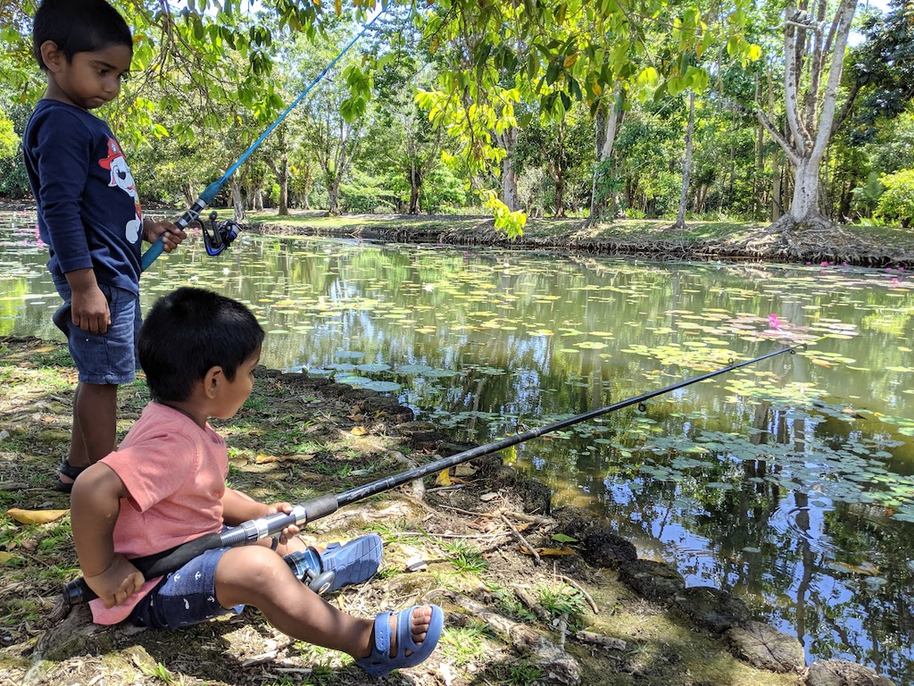 Getting the kids into fishing
