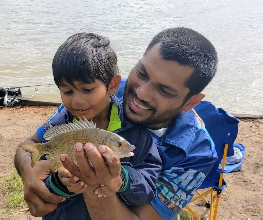 Teaching kids about fish