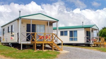 Riverside cabins and camping near Spirit of Tasmania at Discovery - Devonport Holiday Park