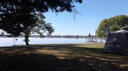 Lake Wallace at the Edenhope Lakeside Tourist Park