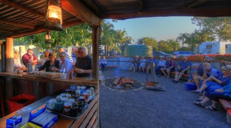 Happy hours encouraged at this popular Goondiwindi Camping site