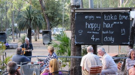 Happy hours are encouraged at the Takarakka Bush Resort