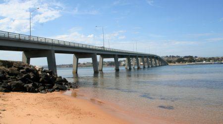 Newhaven Foreshore greets visitors crossing Phillip Island Bridge