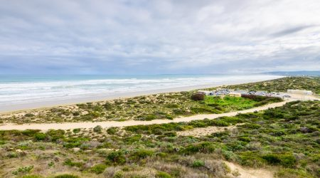 Goolwa Camping and Tourist Park enjoys absolute beach frontage