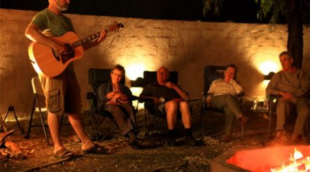 Happy hour at Kidman's Camp, four nights a week