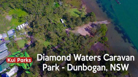 Diamond Waters Caravan Park, Dunbogan, NSW