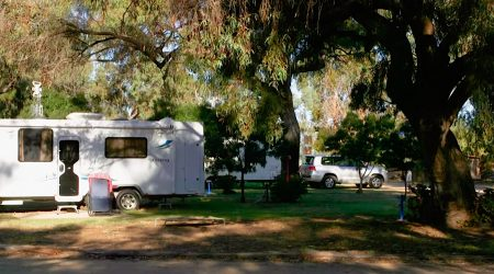 Hay Caravan Park campsites