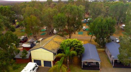 Kalbarri Tudor Holiday Park accepts all rigs